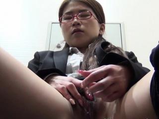 Asian public masturbating