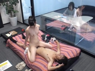 Coach n Teenage Student Sex Game Challenge Behide Magic Mirror mei007.1